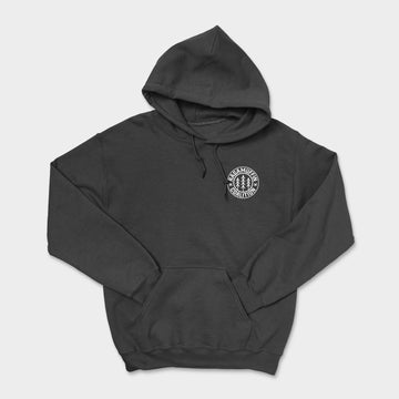 Logo Badge Heavyweight Hoodie // Black
