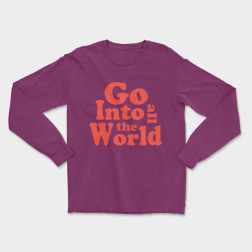 All The World Tee // Berry