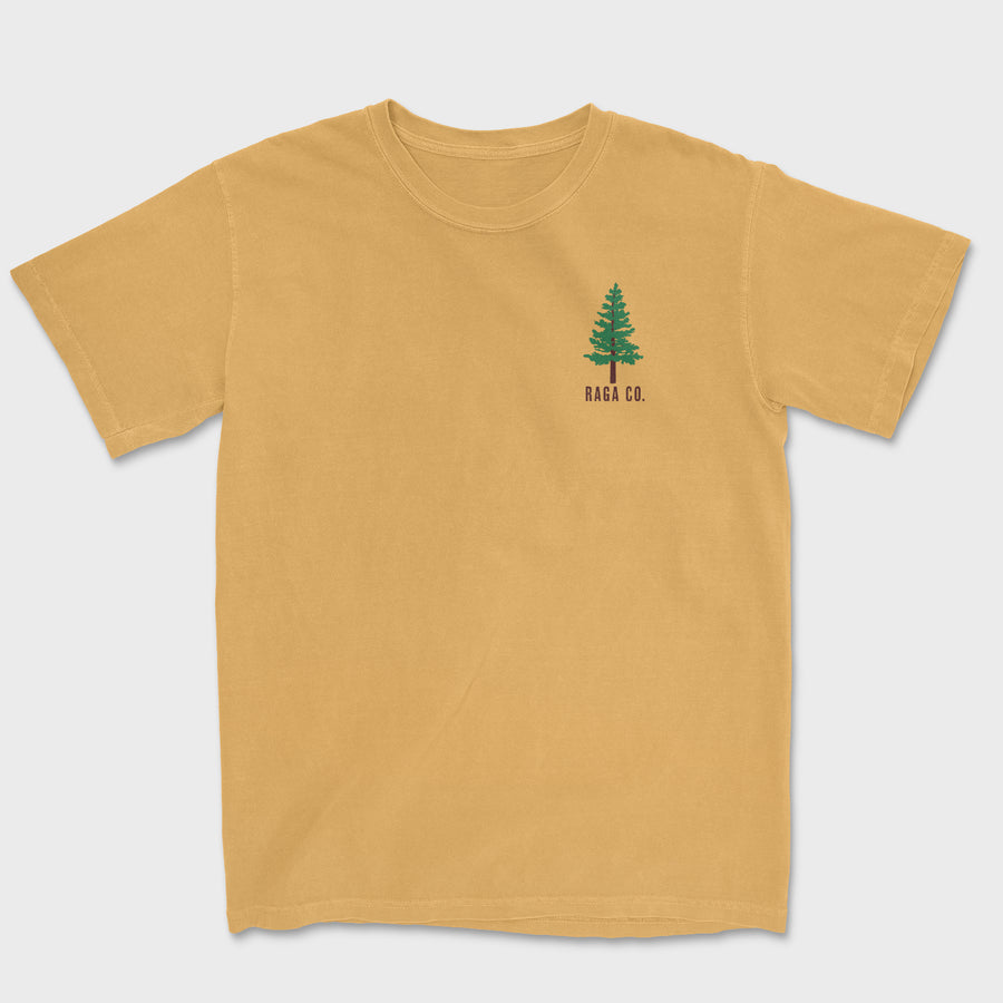 Pine Embroidered Tee // Monarch