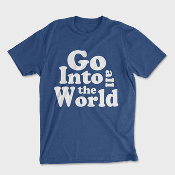 All The World Tee // Royal Blue
