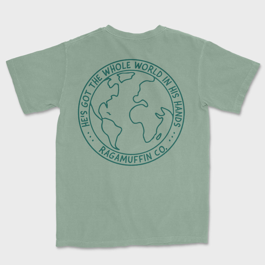 Whole World Tee // Sage