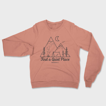 Quiet Place Crewneck // Mauve