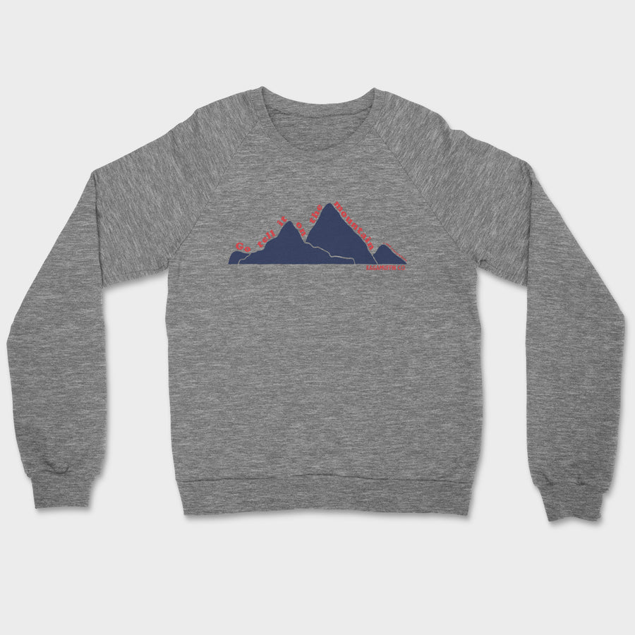 Go Tell It Crewneck // Tri-Grey