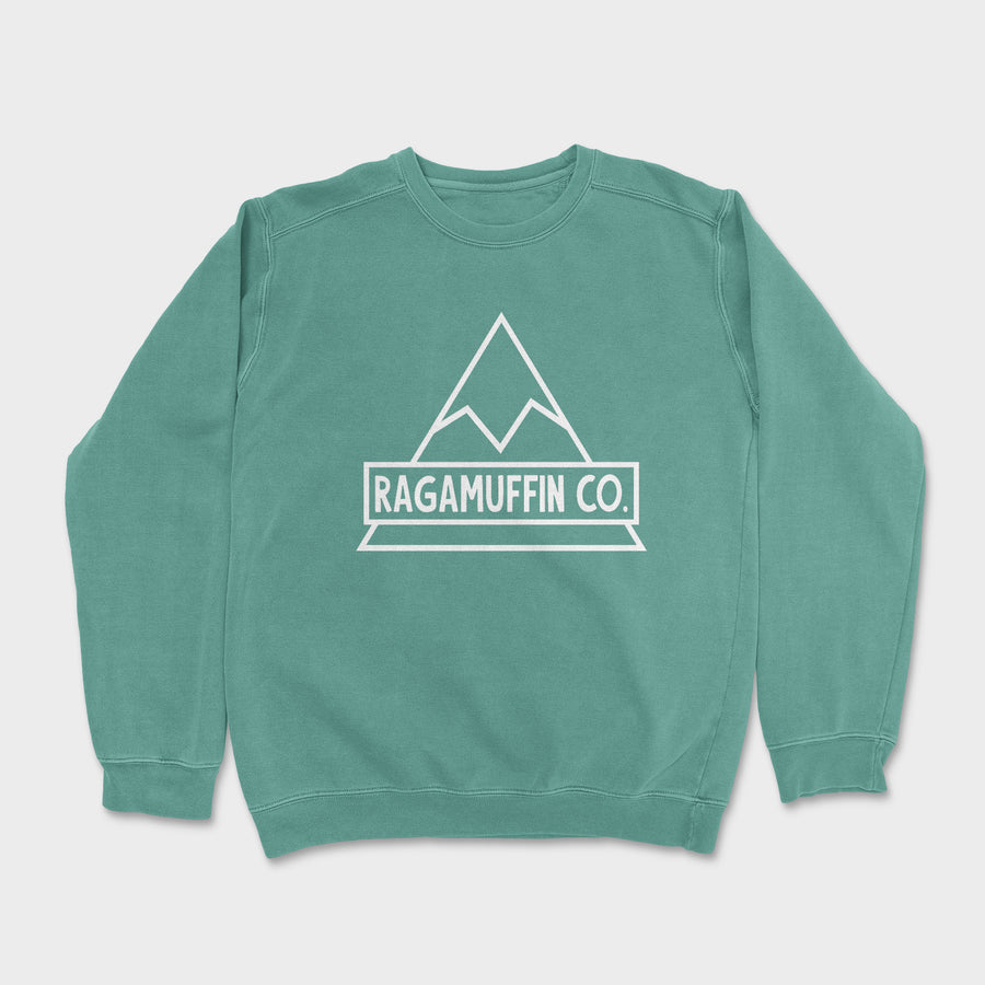 Peak Crewneck // Light Green
