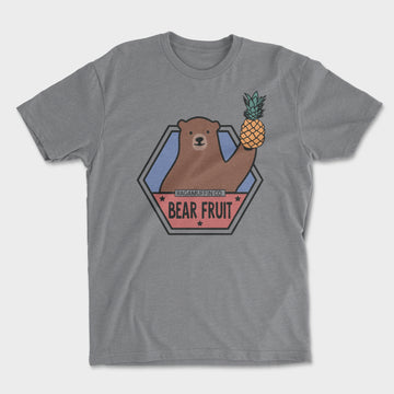 Bear Fruit Tee // Heather Grey