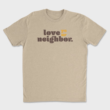 Neighbor Tee // Oatmeal
