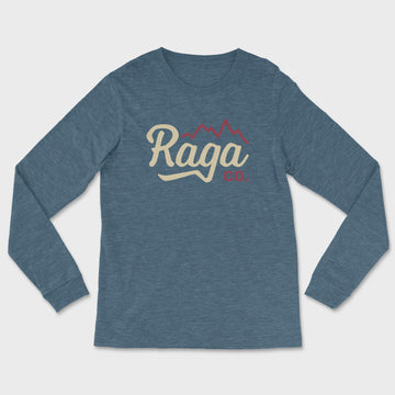 Ridgeline Long Sleeve Tee // Heather Teal