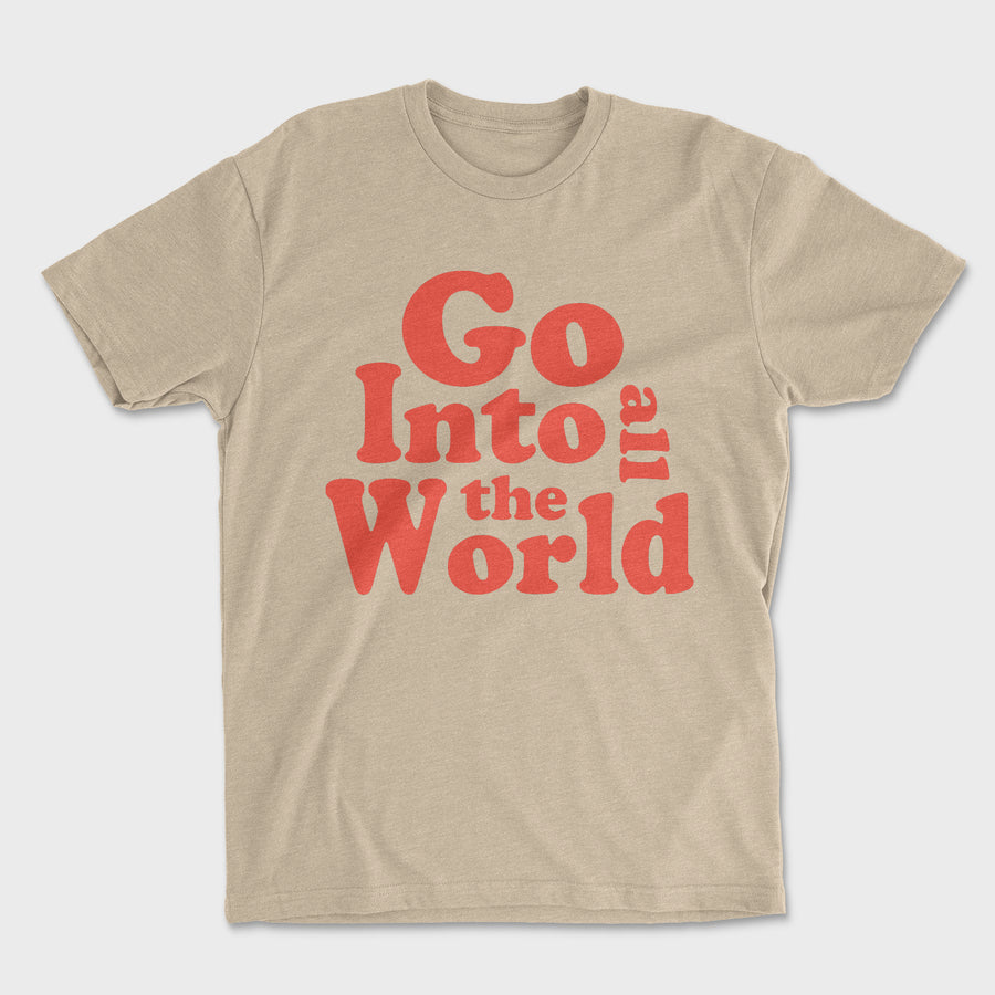 All The World Tee // Oatmeal