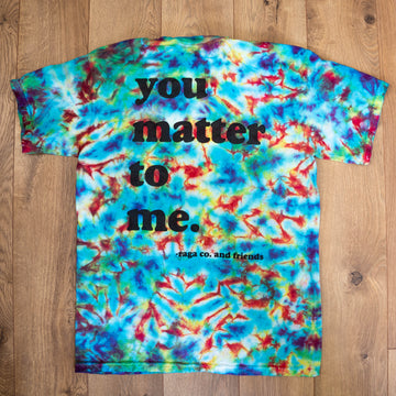 Paul Jones You Matter Tee Collab // Tie-Dye