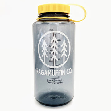 Logo Water Bottle // Smokey