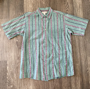 Vintage GreatLand Short Sleeve Button-Up