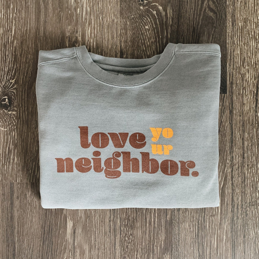 Neighbor Crewneck // Grey