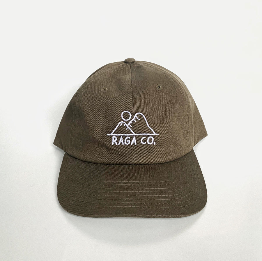 Sunrise Dad Hat // Loden