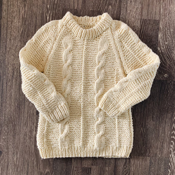 Vintage Heavy Knit Sweater