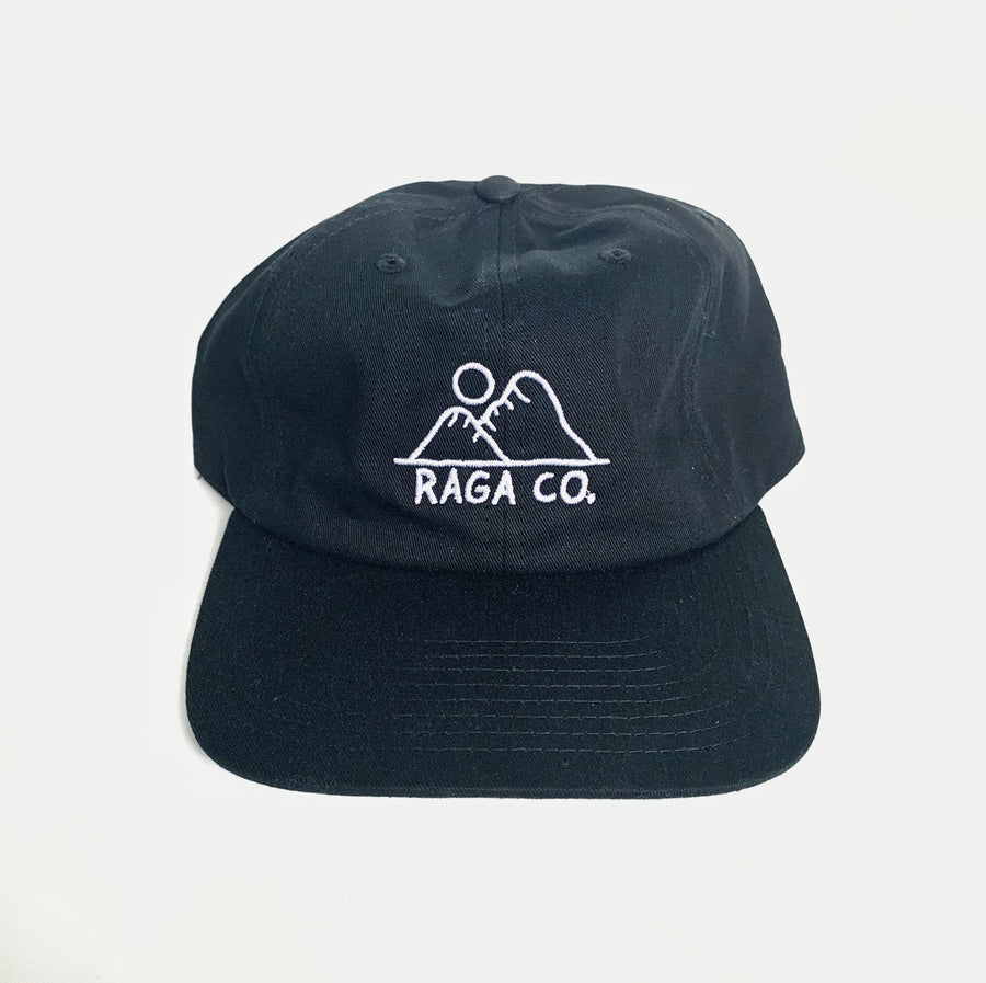 Sunrise Dad Hat // Black