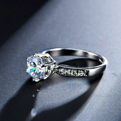 Stunning 1.75 CT AAA Women's Zircon Engagement Rings - BC&ACI