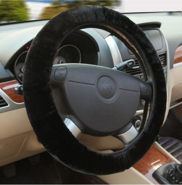 Plush Car Steering Wheel Cover - BC&ACI