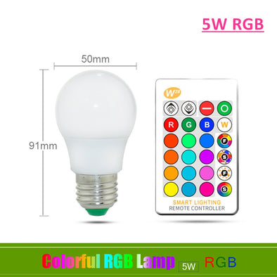 LED Lamp With IR Remote Control and Memory Mode - BC&ACI