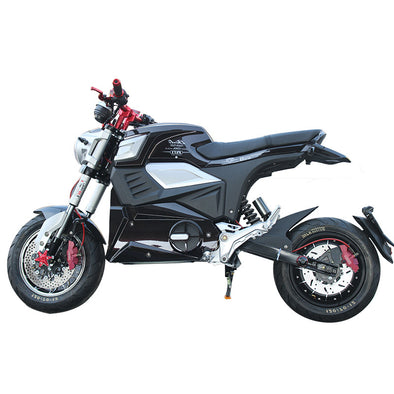 New Electric Motorcycle - BC&ACI