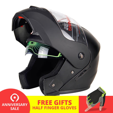 Flip Up Motorcycle Racing Helmet - BC&ACI