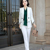 Women's Two Piece Pant Suit - BC&ACI
