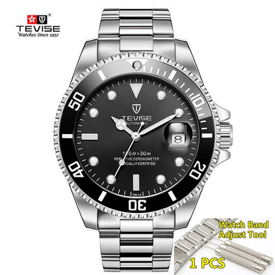 2019 Tevise Top Brand Luxury Men Mechanical Watches Automatic waterproof