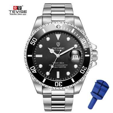 2019 Tevise Top Brand Luxury Men Mechanical Watches Famous Design Automatic