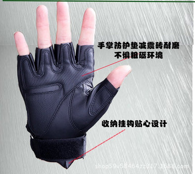Perforated Real Leather Motorcycle Gloves - BC&ACI