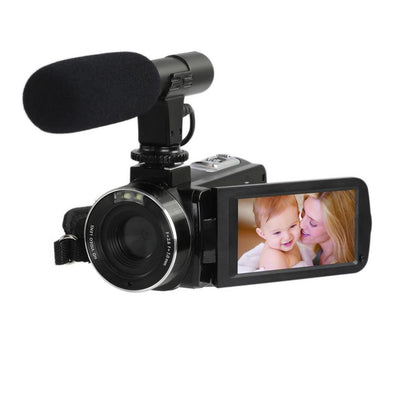 24million PX Video Camera Digital 8X Zoom With WiFi Microphone 1080P - BC&ACI