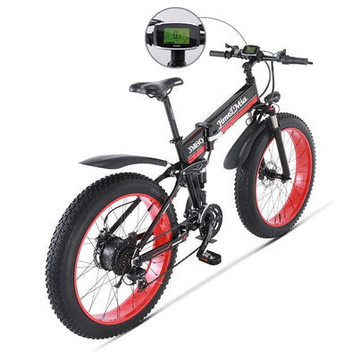 "Rugged 48V500W snow and mountain bike26 ""folding bike 4.0 fat tire electric - BC&ACI"