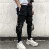 49Hot Side Pockets Pencil Pants Men's Hip Hop Patchwork Cargo Ripped Sweatpants Joggers Trousers Male Fashion Full Length Pants - BC&ACI