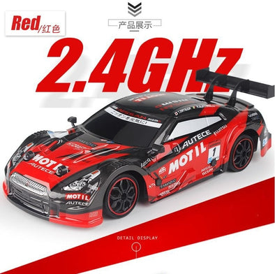 New 4WD drive rapid drift car Remote Control GTR Car 2.4G Radio Control Off-Road - BC&ACI