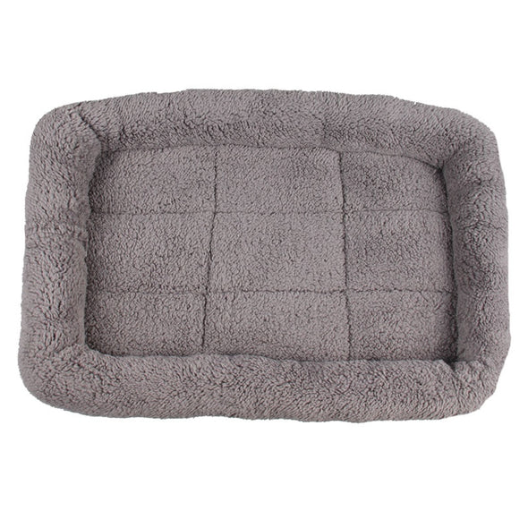 New 5 Size Pet Large Dog Bed Soft Fleece Warm Cat Beds Multifunction Puppy Cushion - BC&ACI