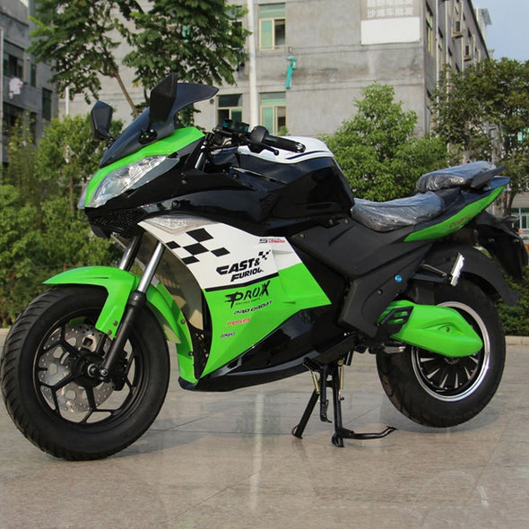 New Adult electric motorcycle scooter electric bike 3000w electric motor electric motorcycles max speed 85km/h 72V - BC&ACI