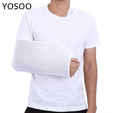 Arm Support Shoulder Belt Breathable Sling Support Elbow Brace Wrist Elbow Fracture Protector Dislocation Broken Arm Sling