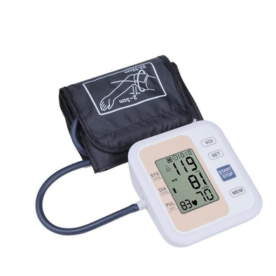 New Automatic Digital Upper Arm Blood Pressure Monitor - BC&ACI