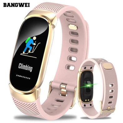 BANGWEI Women Sport Smart Watch Men LED Waterproof SmartWatch - BC&ACI