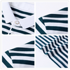 New High Quality Men's Striped Short-Sleeved Collar T-Shirt - BC&ACI