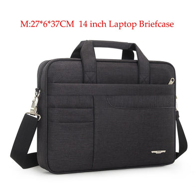 New Brand Waterproof Men Women 14 15.6 inch Laptop Briefcase Business - BC&ACI