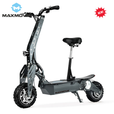 China MAXMOV 1800W BLDC Motor Off Road Mobility Scooter Electric with Alloy Front& Rear Fork - BC&ACI