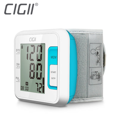 Cigii Tonometer Smart digital display bracelet Heart rate monitor 1 PCS Health care Wrist blood pressure Monotor