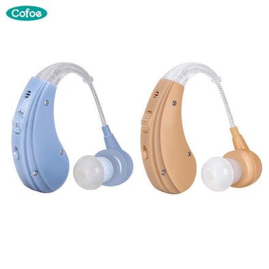 New Cofoe Rechargeable BTE Hearing Aid for Hearing Loss - BC&ACI
