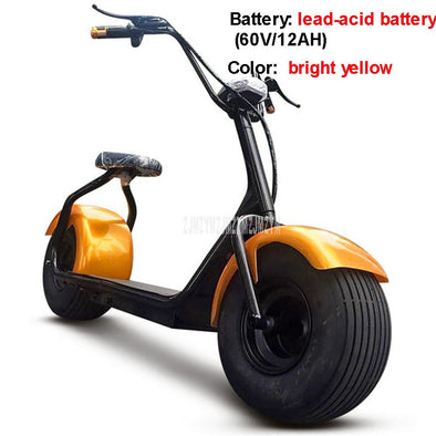New Style Big 2 Wheel New Harley Electric Vehicle Adult Pedal Electric - BC&ACI