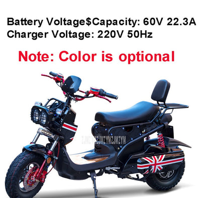 Cool Style Electric Motorcycle Scooter Electric Vehicle For Adult