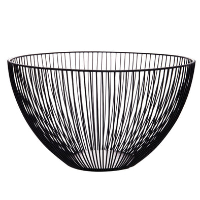 Creative Fruit Tray Drain Basket Household Iron Fruit Bowl Storage Basket Fruit Basket Drop Shipping
