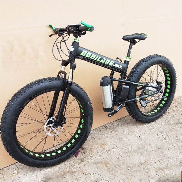 New Custom version 26inch electric mountain bike fat tire - BC&ACI
