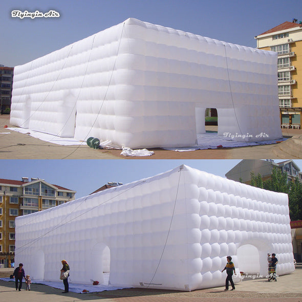 New Customized Marquee 20m*10m*7m White Large Inflatable Cube Tent - BC&ACI