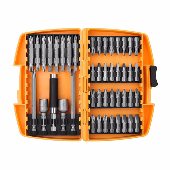 DEKO 46 in 1 Screwdriver Set Phillips/Slotted Bits With Magnetic Multi Tool Home Appliances Repair