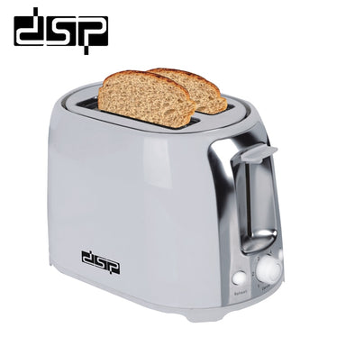 New DSP KC2001 Toaster 750W Bread Maker 2 Slices Warm Stainless Steel - BC&ACI