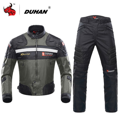 DUHAN Motorcycle Jackets Motocross Off-Road Racing Jacket